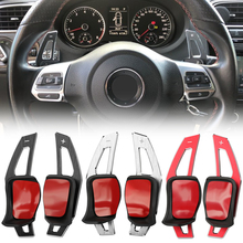 Cambio volante paddle DSG Paddle Extension Per VW Beetle Scirocco Touareg Eos Sharan Tiguan R36 Golf 5 6 GTI polo Jetta