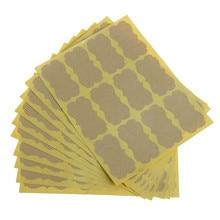 Новинка 120 шт DIY печать ручной работы наклейка винтажная пустая крафт-этикетка наклейка s для украшения подарочных упаковочных инструментов 5,9x3,2 см
