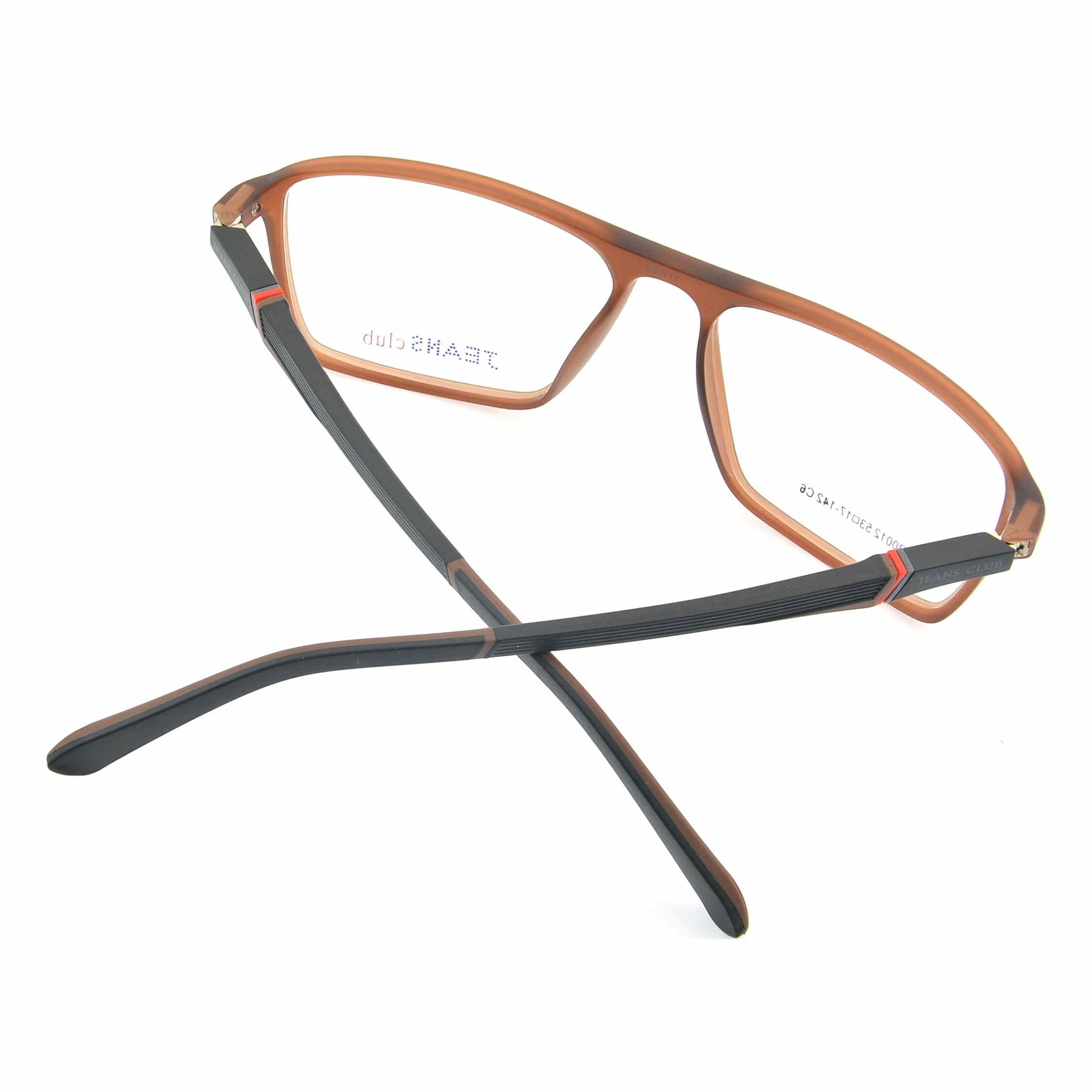 ג 'ינס מועדון TR אופנה משקפיים מסגרת שפה מלאה משקפיים גברים ונשים קוצר ראייה אופטית משקפיים סהרוני de vue anteojos JR0012