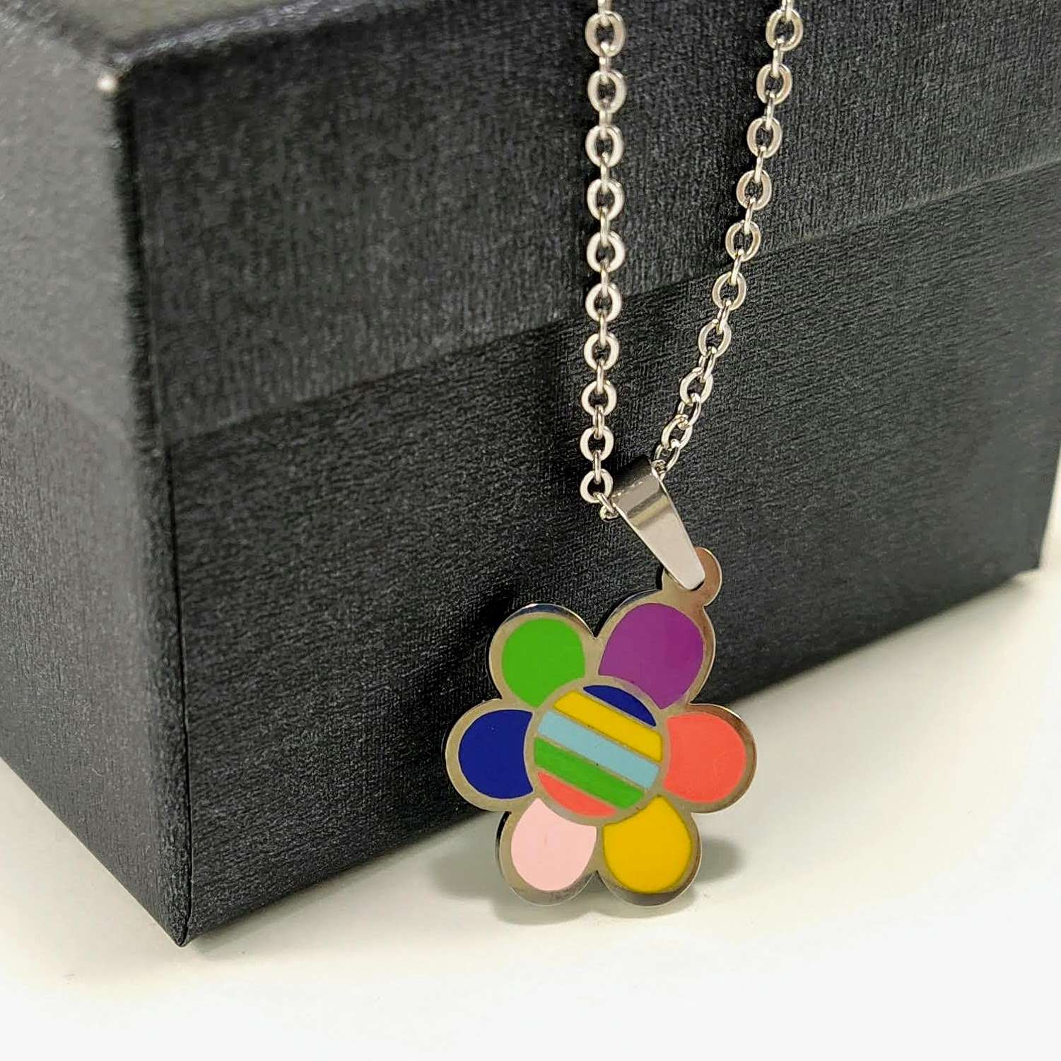 Pendant Flower's for women lad fashion trend Chain 2020 birthday friend gift fashion trendy image
