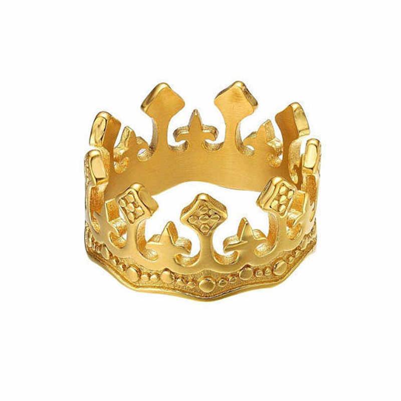 Thời Trang Vintage Nhẫn Đôi Nhẫn Cặp Nam Vàng Bạc Màu Đen Nam Nữ Nhẫn Cặp Nhẫn Đính Hôn Cưới LỜI HỨA Nhẫn Người Yêu Cho Nam GIF