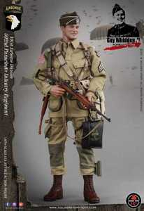 Image 4 - Soldier Story SS110 1/6 WWII US Army 101 Airborne Division 502 Regiment Paratroopers Male Soldier Action Figure Collections
