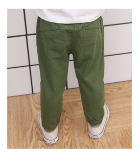 Image 5 - Famli 2018 hot sale Spring Summer Autumn children Full Lengths for baby boys trousers kids child casual Solid  Pencil pants