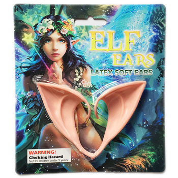 2020 Hot Selling 1 Pair Latex Elf Ears Pointed Cosplay Mask For Halloween Masquerade Party Costumes Festival