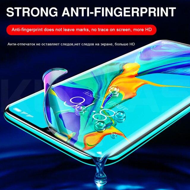 600D 2 sztuk nie szkło miękka folia hydrożelowa dla Huawei P20 Lite P30 Pro Mate 10 20 30 Lite ochronna na ekranie folia ochronna