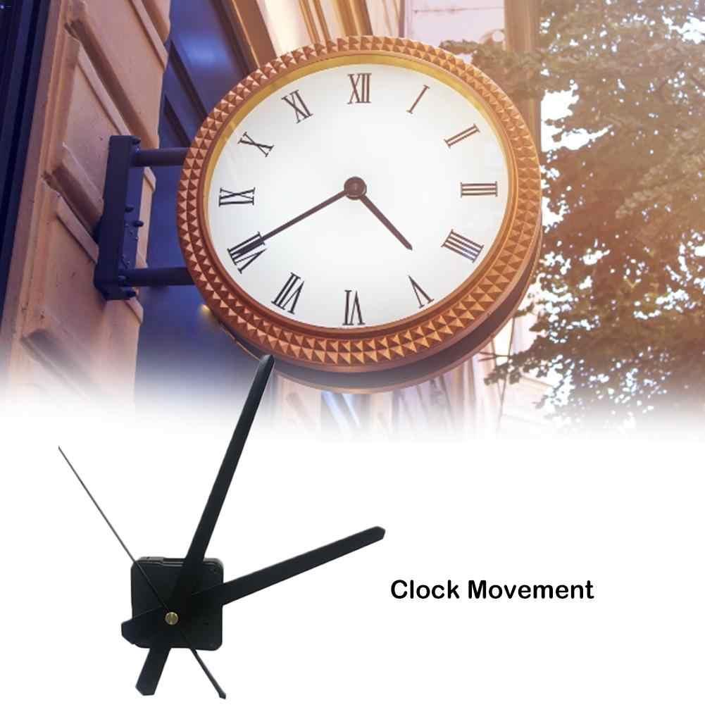 Бесшумные большие настенные кварцевые часы с механическим ходом черные и красные ручные ремонтные инструменты набор деталей DIY набор с крюком