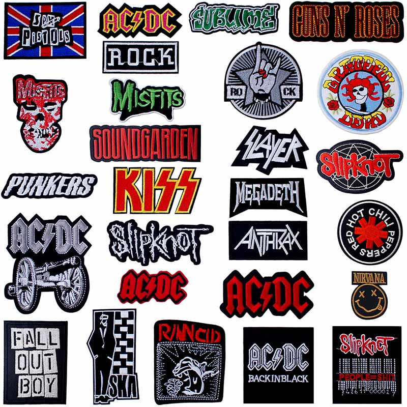 MACHINE HEAD MH Heavy Metal Iron Sew On Applique Badge Patch UK Seller