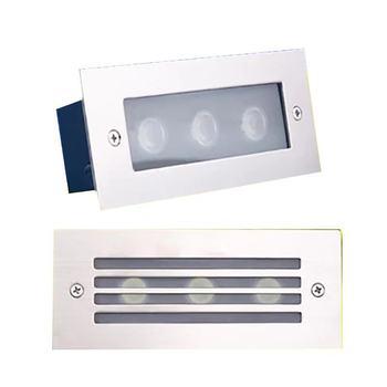 Kinkiet LED 9W IP67 światła schodowe LED wpuszczana lampa do wkopania podświetlenie schodka wewnątrz na zewnątrz wodoodporna lampa narożna schody AC85-265V tanie i dobre opinie ROSTSTAR CN (pochodzenie) Oświetlenie uliczne 1 years 100-265 V ROHS Brak r-88688 Polerowana stal STAINLESS STEEL Przemysłowe
