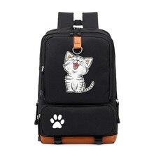 2020 New Cat Cute Unicorn Backpack Schoolbag Casual Backpack