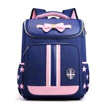 Hot NEW school bags for girls boys children orthopedic backpack kids Nylon waterproof book bag primary 1-3 grade mochila