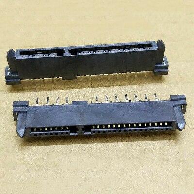 Разъем SATA, двухрядный разъем для разъема 7P + 15P 22-контактный разъем интерфейса жесткого диска