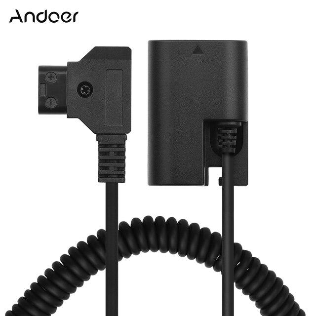 Andoer d tap à NP FZ100 adaptateur coupleur DC entièrement décodé accessoire de batterie factice pour Sony A9 A7R3 A7M3 A7S3 A7III caméras
