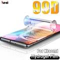 Гидрогелевая пленка 99D для сяоми Xiaomi 10 Ultra 9 SE 8 Pocophone F1 F2, Защита экрана для ксиоми Note 10 Lite Pro A3 A2 A1 про, мягкая пленка, не стекло защитная для экра...