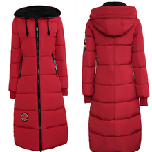 Parkas Basic Winter Puffer Down Jackets Female Lady Plus Siz
