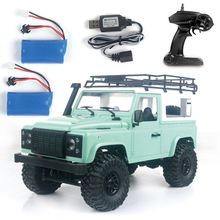 MN D90 1/12 2.4G 4WD Rock Crawler Remote Control Truck 180 Motor High Speed Off Road Car RC Truck Led Light Turck Gift