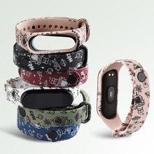 Strap Wristband Xiaomi Silicone for 4-strap/Fashional/Cartoon/.. 4-Replacement 3
