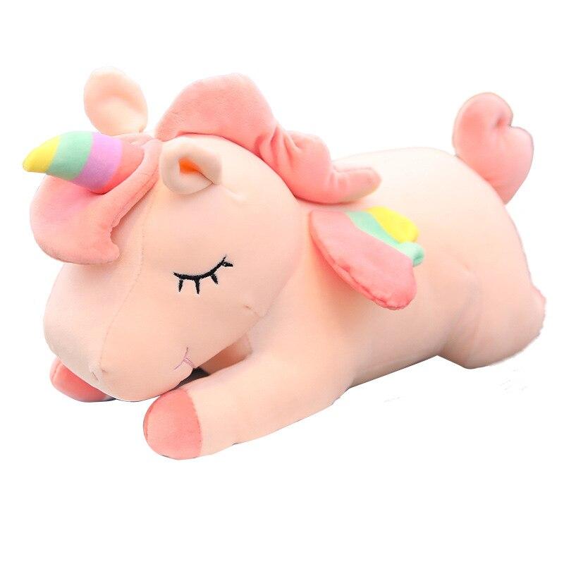 30 см единорог игрушки мягкие плюшевые игрушки животных и плюшевые игрушки Плюшевый единорог лошадка с куклой детские куклы для Детский под...