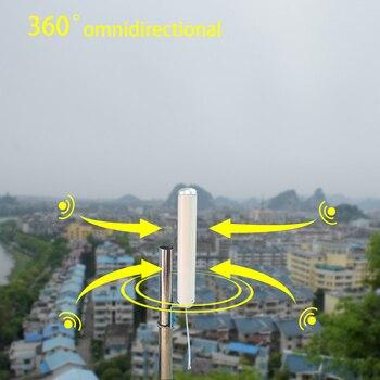 هوائي خارجي 10dBi Omni لـ 2G 3G 4G 700 800 900 1800 1900 2100 2600 GSM مكبر صوت خلوي مكرر وهوائي إنترنت متحرك