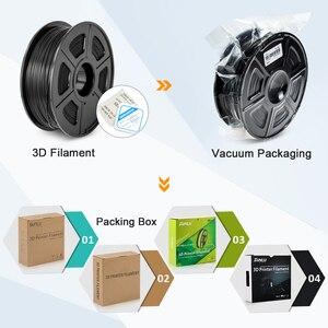 Image 5 - SUNLU PLA 탄소 섬유 프리미엄 3D 프린터 필라멘트 매우 단단한 탄소 섬유 1.75mm +/  0.02mm 1 KG (2.2 lb)