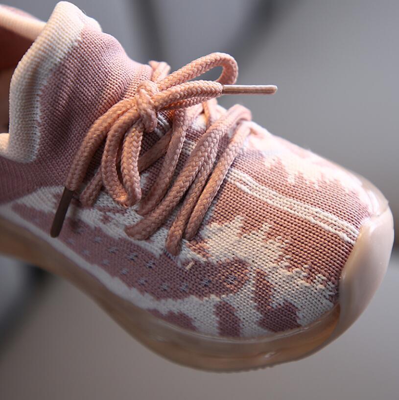LED Mesh Breathable Sport Run Sneakers 4