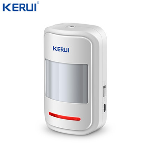 Image 1 - Kerui Rechargeable 5V USB 433MHz Wireless PIR Sensor Motion Detector For GSM PSTN  Security System Auto Dial Alarm Kit