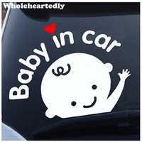 Neue Ankunft Nette Auto Aufkleber Baby im Auto Aufkleber Cartoon Schöne Decals für Baby an Bord Auto Dekoration für Volvo ford etc