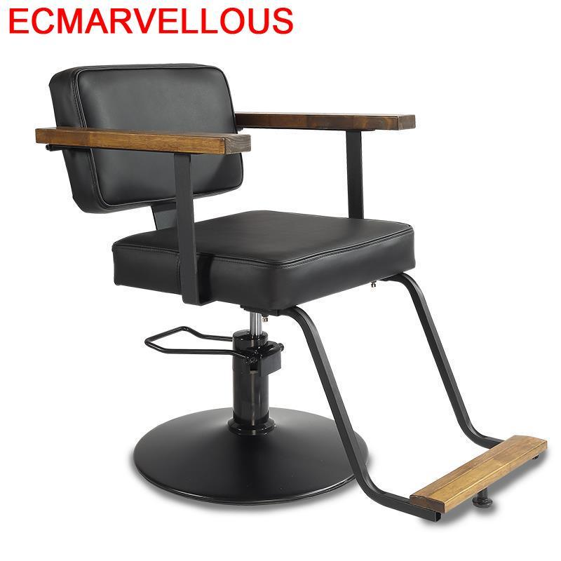 Hair Salon Furniture Cabeleireiro Barbeiro Schoonheidssalon Stoelen Fauteuil Chaise Barbershop Shop Silla Cadeira Barber Chair