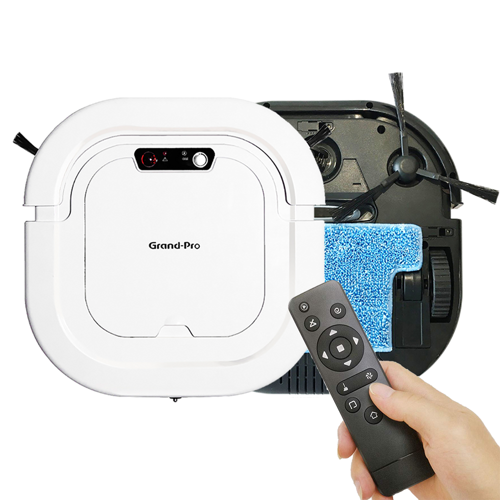 Grand-Pro A1 Intelligent Vacuum Cleaners Home Appliance Automatic Sweeping Robot Pet Hair Floor Care, Robot Vacuum Cleaner