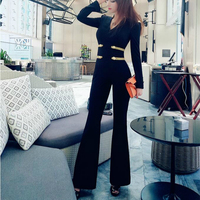 2020 new spring and autumn fashion brand female women ladies girls long sleeve jumpsuit clothing