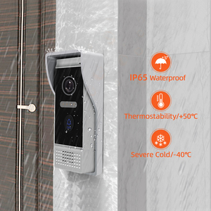 Image 5 - 7 inch WIFI IP Video Door Phone Intercom Wireless Door Bell Door Speaker Access Control System Touch Screen Motion Detection