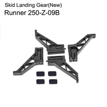 1Set Skid Landing Gear Tripod GPS New Aerial Accessories For Walkera Runner 250-