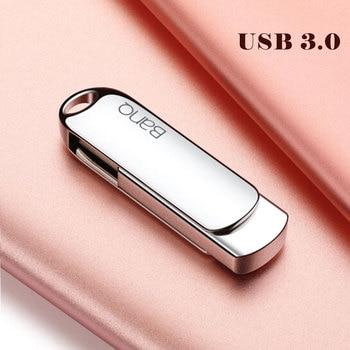 Banq Max5 USB Flash Drive 512G Metal Pendrive High Speed USB3.0 Memory Stick 128G pen Drive Real Capacity 256G USB Flash U disk