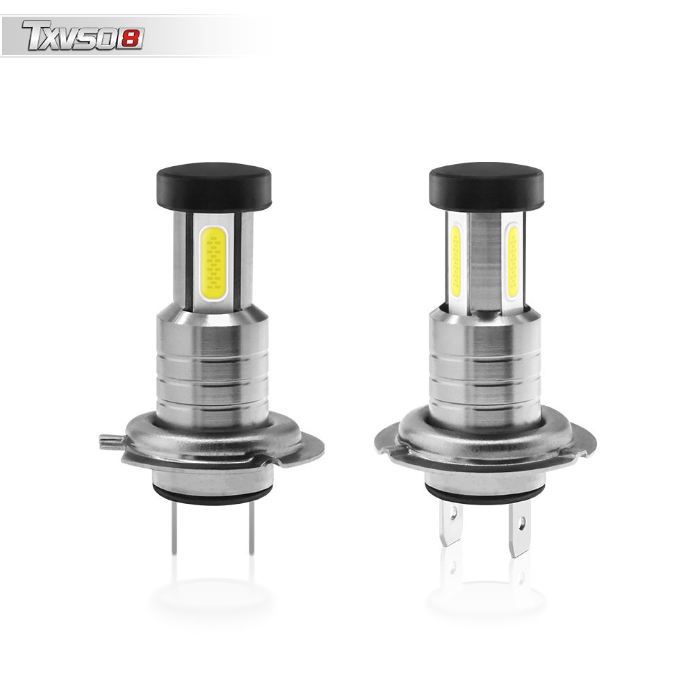 2pcs <font><b>H7</b></font> DC 9V-32V 110W 6000K <font><b>30000LM</b></font> Car LED Headlight Conversion Kit Bulb White High/Low Beam Car LED Headlight image