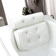 Воздухопроницаемая сетчатая 3d подушка для ванны с присосками