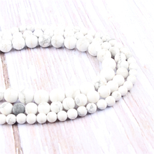 Frosted White Pine Natural?Stone?Beads?For?Jewelry?Making?Diy?Bracelet?Necklace?4/6/8/10/12?mm?Wholesale?Strand