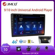 JMCQ 8 코어 DSP 안드로이드 4G + 64G 4G 그물 9 인치 자동차 라디오 멀티미디어 비디오 플레이어 2 딘 네비게이션 GPS FM 닛산 기아 혼다 폭스 바겐