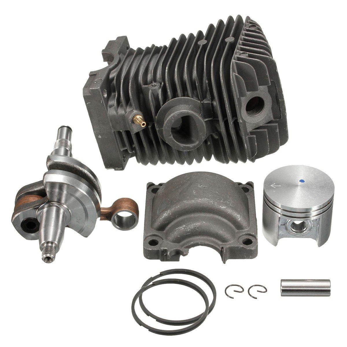 42.5mm Engine Motor For STIHL MS250 Cylinder Piston Crankshaft Chain Saw For Stihl 023 025 MS230 MS25 11230201209 11230300408