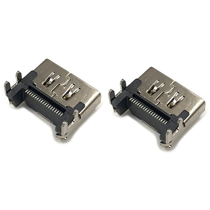 10Pcs HDMI Port Socket Connector New Replacement Part For Playstation 4 PS4 3