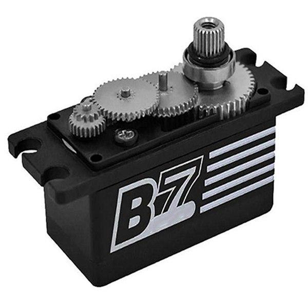 Power hd b7 curto corpo sem escova de alta pressão aço dente servo engrenagem direção versão revolução para rc carro|Peças e acessórios de reposição| |  - title=