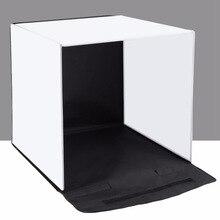PULUZ 40x40 см 16 дюймов фотостудия коробка Фотостудия софтбокс портативный складной студийный стрельба палатка коробка наборы с 5 задний фон