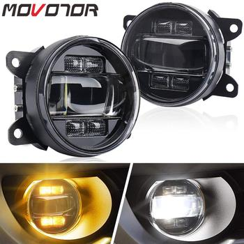 4inch Driving Fog Lamps for Ford Explorer Freestyle Mustang Nissan Cube Universal LED Fog Lights