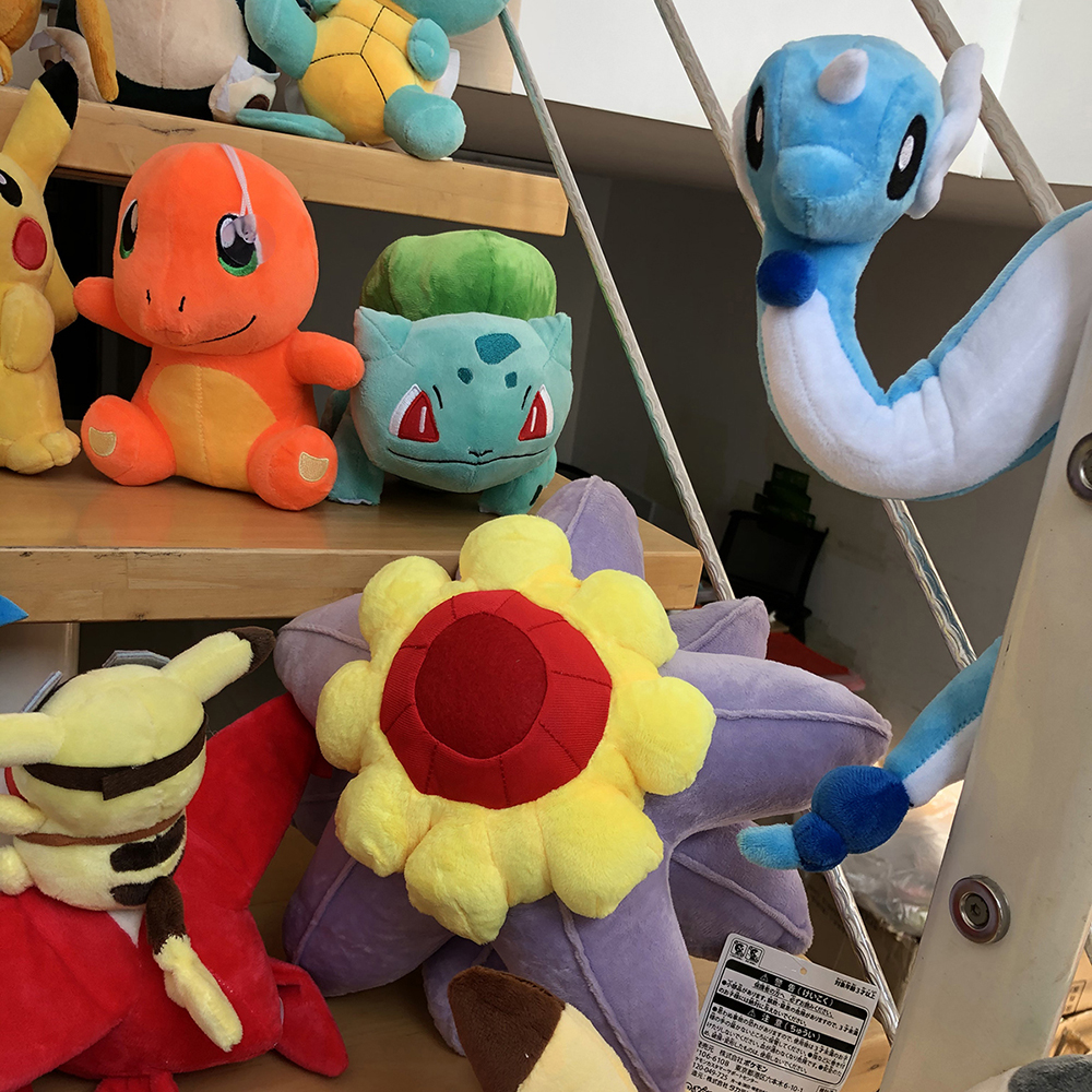 41 Styles Pikachued Charmander Bulbasaur Squirtle Pokemoned Plush Toys Eevee Snorlax Jigglypuff Stuffed Doll Christmas Kid Gift 4