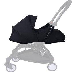 Детская коляска, спальная корзина, 0-6 м, гнездо для новорожденных, подходит для yoyo Yoya, детские коляски, зимние спальные мешки, аксессуары для ...
