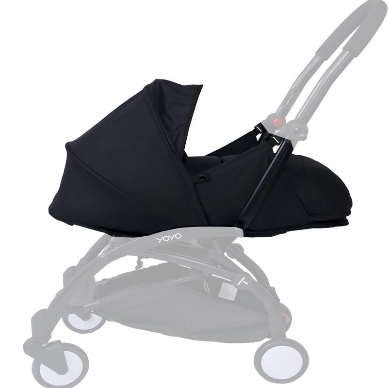 Baby Stroller Sleeping Basket 0-6M Newborn Birth Nest Fit For Yoyo Yoya Prams Infants Winter Sleep Bags Strollers Accessories