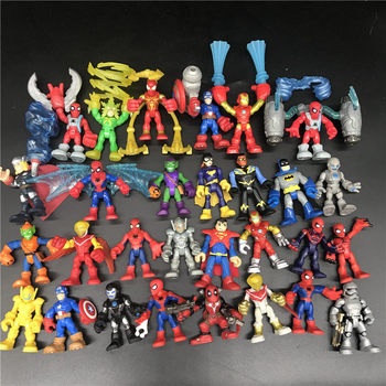 MARVELS Action Figure Toy Dolls Avengers Infinite War Spider-Man Hulk Iron Man Captain America Gift collection the avengers egg attack iron man patriot a i m ver super hero pvc ironman action figure collection model toy gift 18cm
