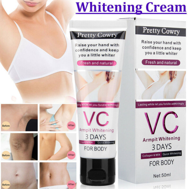 50g Underarm Whitening Cream For Bikini Elbow Armpit Knee Dark Area Lightening Body Creams@11