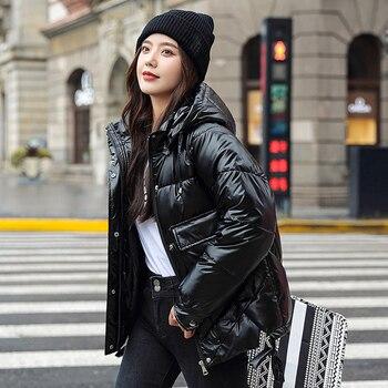 Down parka femme, manteau à capuche de haute qualité, vêtement chaud pour femme, collection hiver 2020, collection décontracté 1