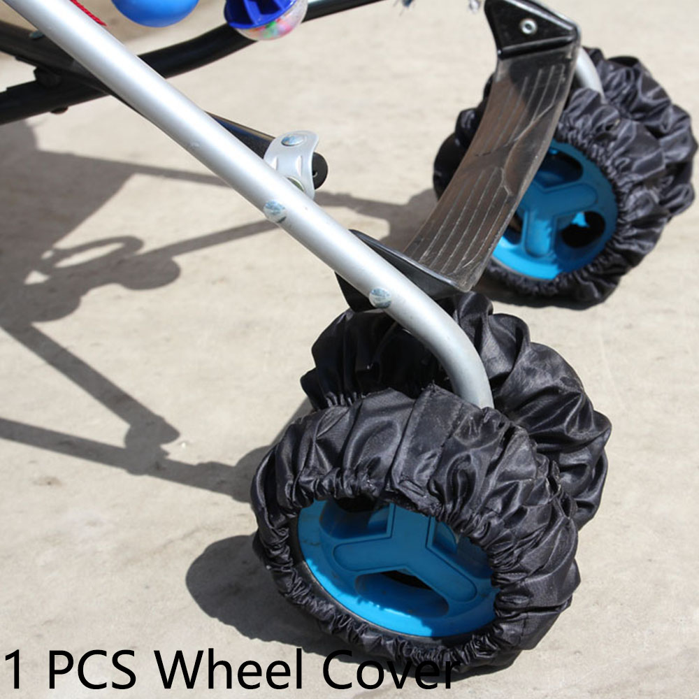 Baby Carriage Wheel Cover For 12-23 Cm Pram Pushchair Multifunctional Baby Stroller Handle Cover Pram Cart Protector Accessories