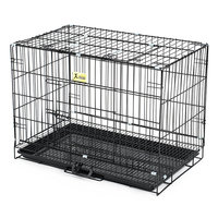 90cm-luxury-portable-folding-dog-metal-cage-small-large-pet-cat-perro-house-with-toilet-treat-fence-tray-car-seat-carrier-basket