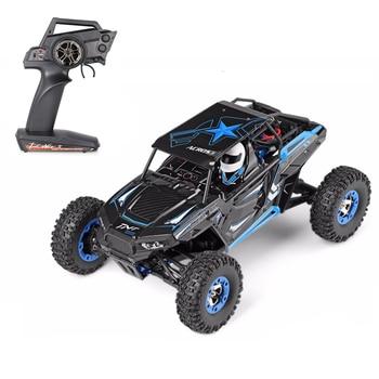 Wltoys 12428-B 1/12 coche de radiocontrol eléctrico cepillado 2,4G 4WD, coche de juguete de escalada a Control remoto de alta velocidad con luz Led VS 12428